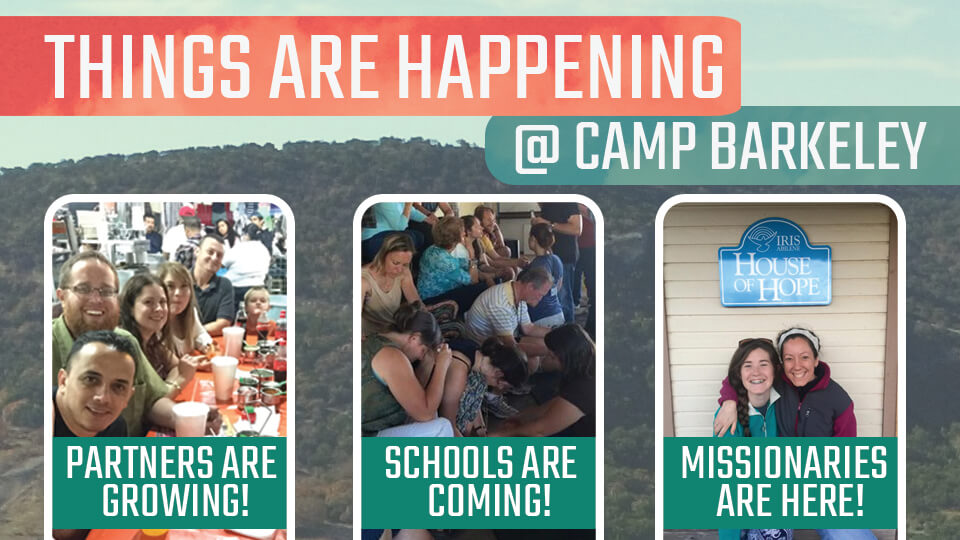 Things are happening at Camp Barkeley